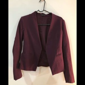 Purple Theory Lanai Stretch Cut Blazer